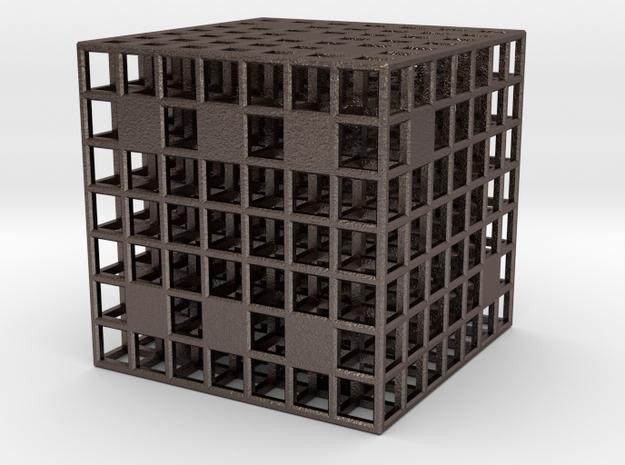 Steel Grid Die (2.5 cm) 3d printed