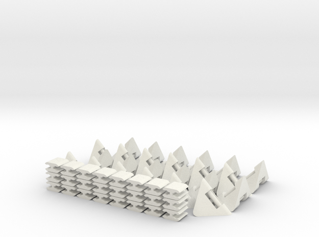 FLEXALEX in White Natural Versatile Plastic