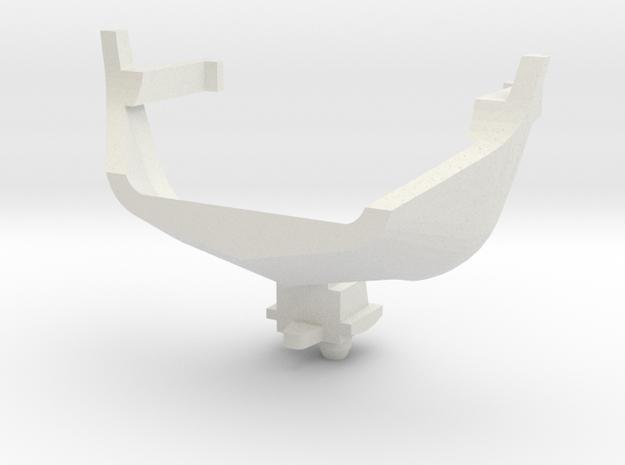 Koeievanger Plan V Schaal HO in White Natural Versatile Plastic