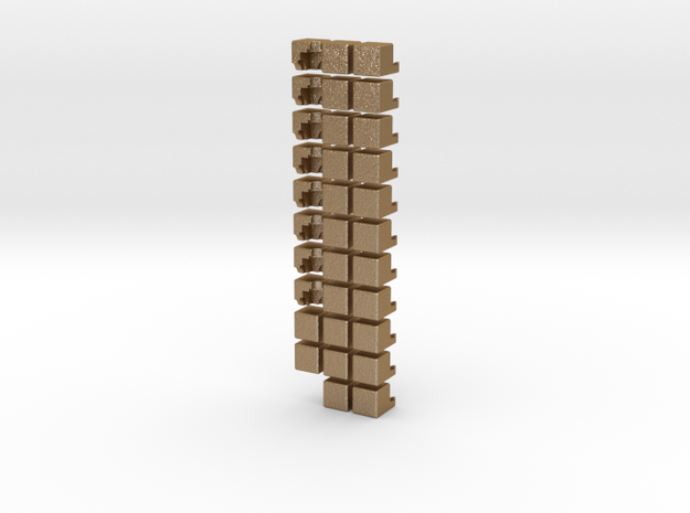 The 2x2 Cross cube 3d printed