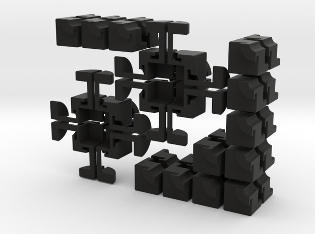 Crazy 2x2 Cross Cube 3d printed