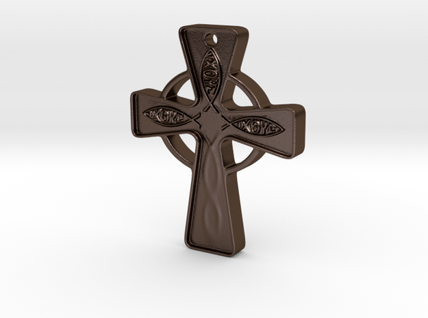 Celtic_Cross approx 1 inch 3d printed
