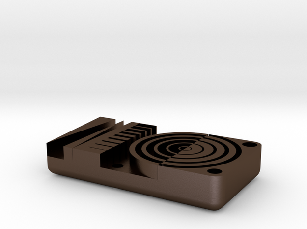 Detail Test, Metric 3d printed