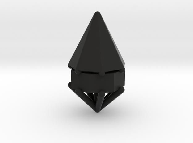 d7 cone blank in Black Natural Versatile Plastic
