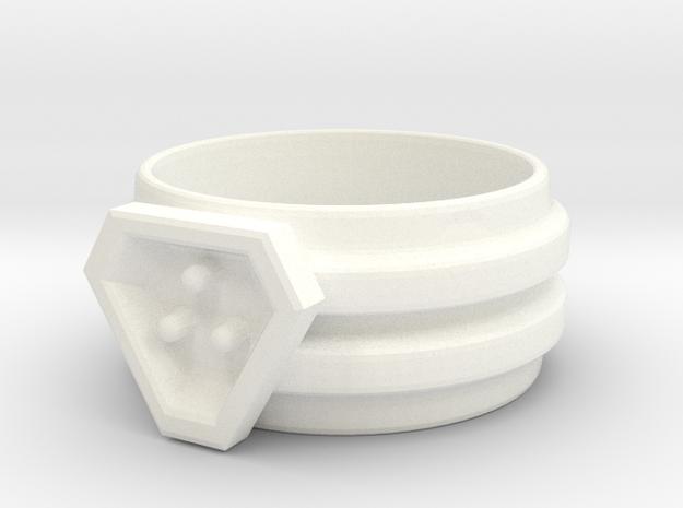 Interlocking Ring Set His 3d printed