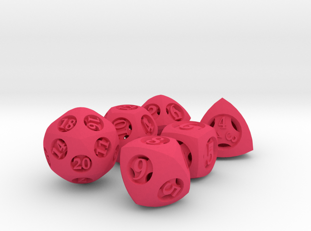 Overstuffed Dice Set