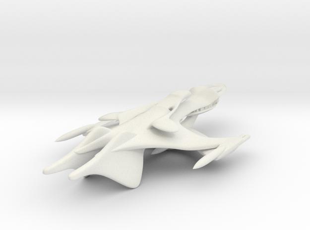 Large Whitestar Prototype in White Natural Versatile Plastic