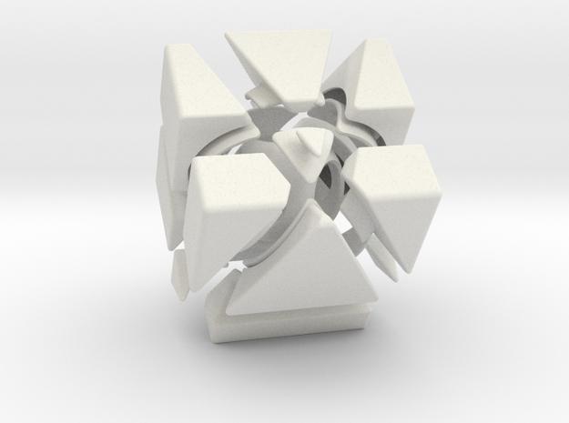 CubicPyraminx 3d printed
