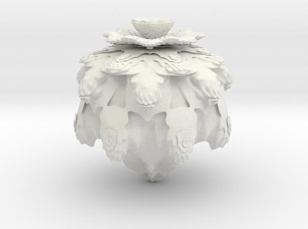 Mandebulb_hollow 3d printed
