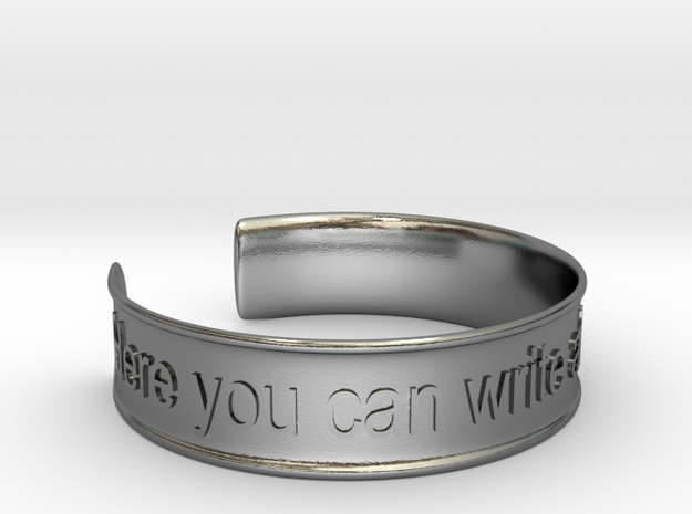 Bracciale Creative 01 in Polished Silver