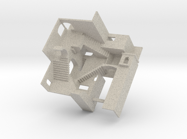 crazy stairs 3d printed