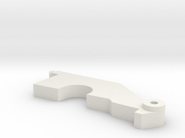 Spektrum DX6i throttlearm in White Natural Versatile Plastic