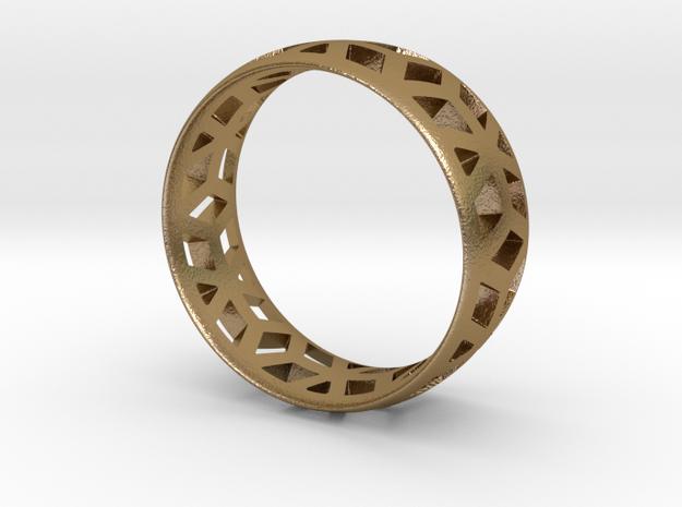 geometric ring 1 3d printed