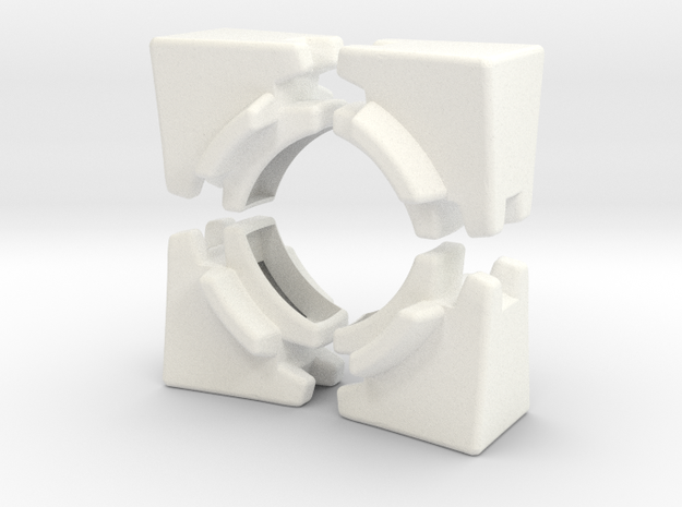Edges for Anisotropic Cube 3d printed