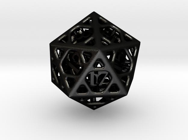 Cage Die20 3d printed