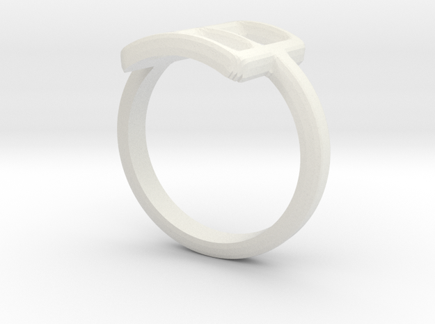 Neda''s Ring in White Strong & Flexible