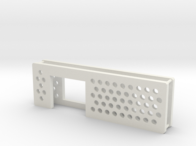arduino enclosure ends in White Natural Versatile Plastic