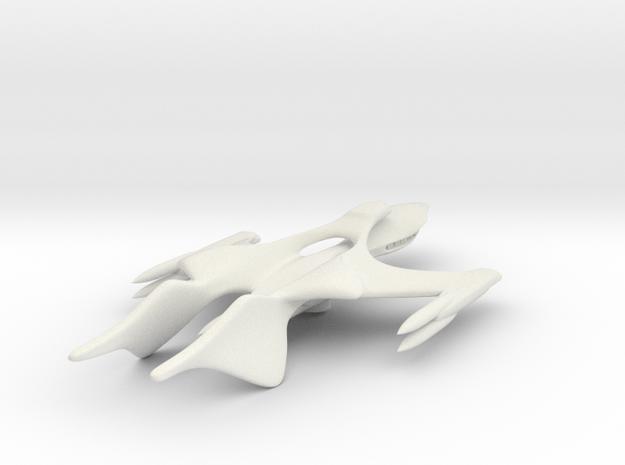 Sparrow Light Whitestar in White Natural Versatile Plastic