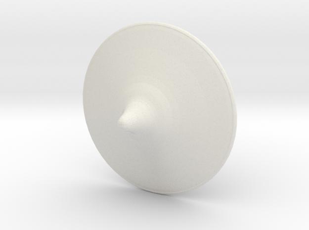 inception top totum in White Natural Versatile Plastic