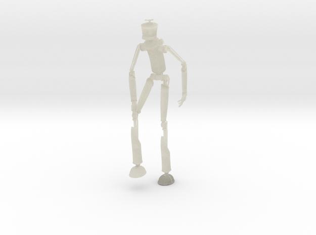 Robotman 20cm in Transparent Acrylic