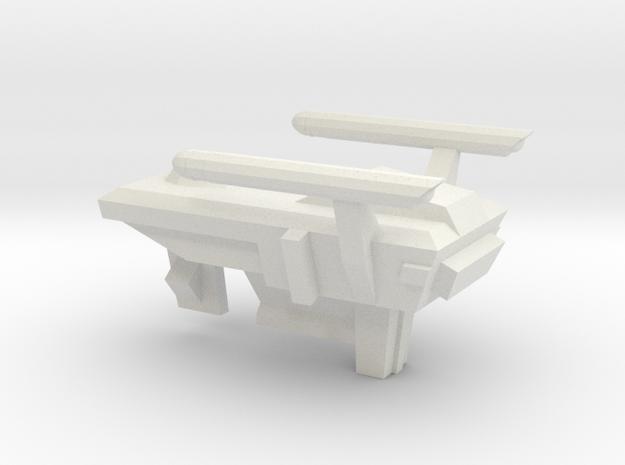 Huron Type 1/7000 in White Natural Versatile Plastic