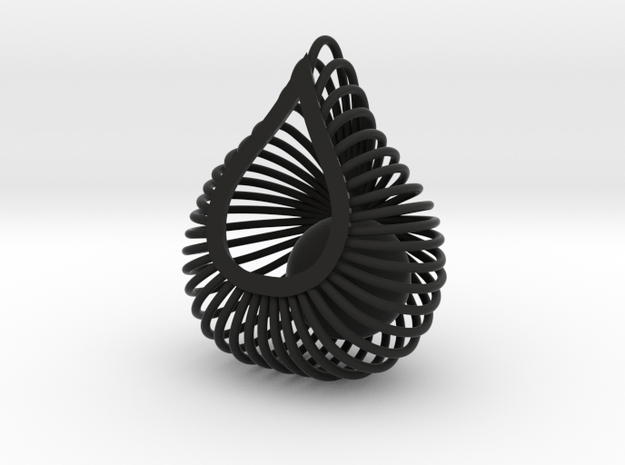 ENVIRON Cage Pendant 3d printed