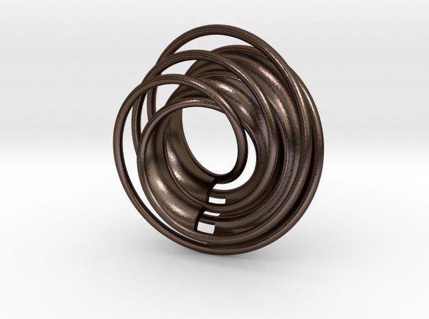 Twin Rail Mobius can-take-a-ball - Pendant