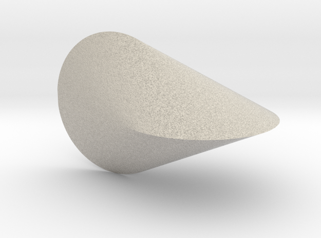Oloid 2-circle roller (small) 3d printed