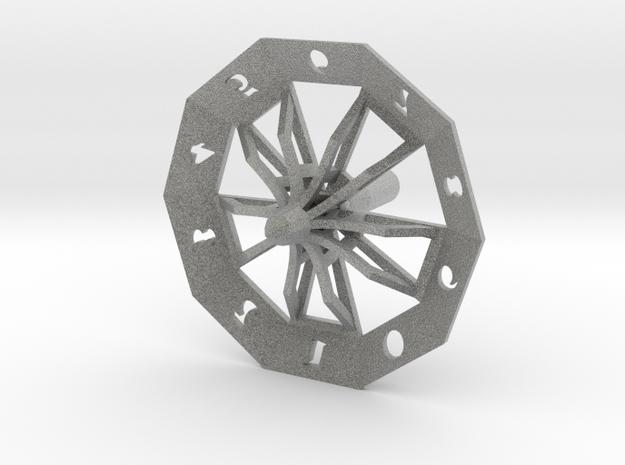 ''d10 Spinner'' 3d printed