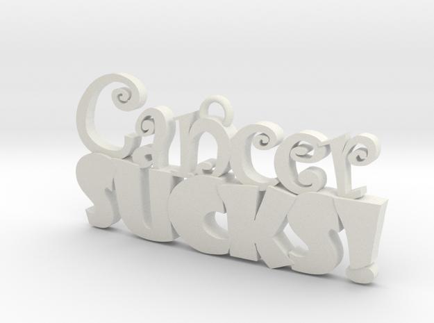 Cancer Sucks 3d printed