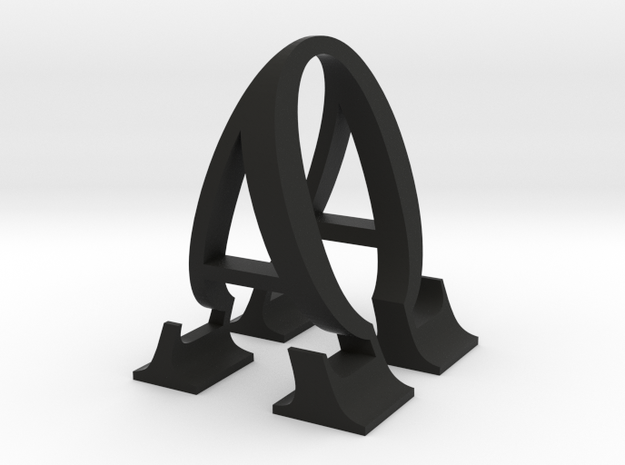 Alpha and Omega  3d printed