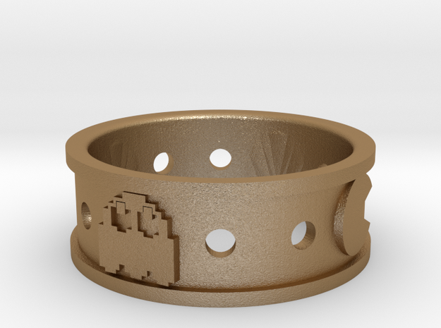 Courtney Pacman Ring 3d printed