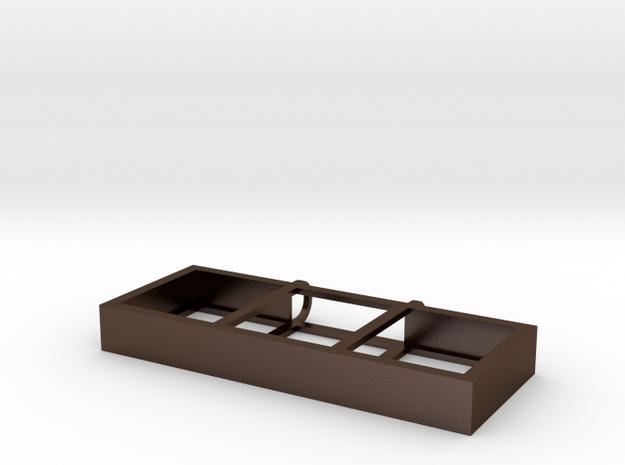 Scrabble Pendant: 3-Tile 3d printed