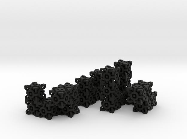 Seldom Complex Cube 3d printed