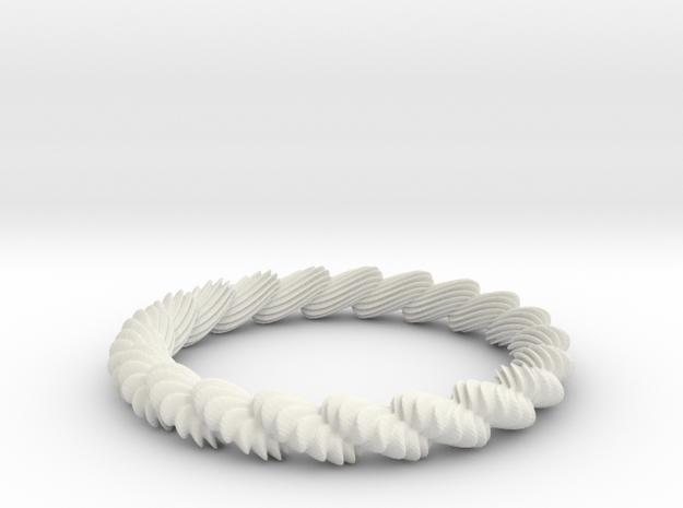 Posy in White Natural Versatile Plastic