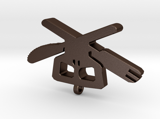 Cross Utensils Pendant 3d printed