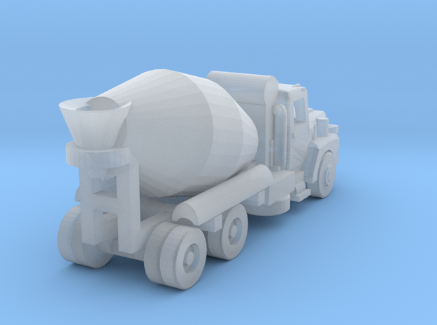 Mack Cement Truck - Open Cab - Z scale in Smooth Fine Detail Plastic
