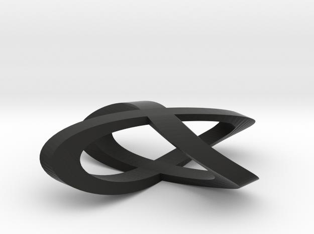 Clover Pendant 3d printed