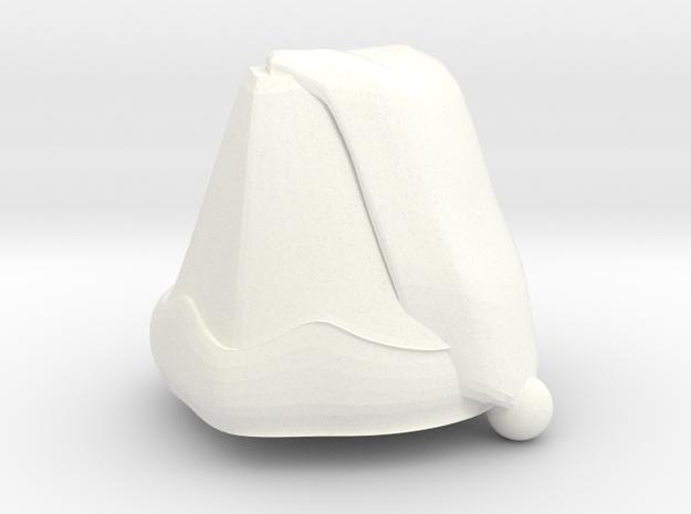Santa Claus (Test) in White Processed Versatile Plastic