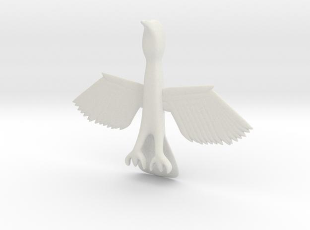 Big Bird in White Natural Versatile Plastic