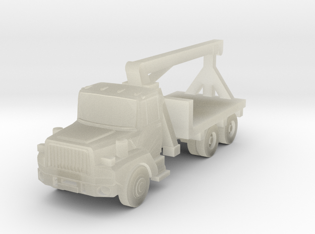Mack Crane Truck - Z scale in Transparent Acrylic