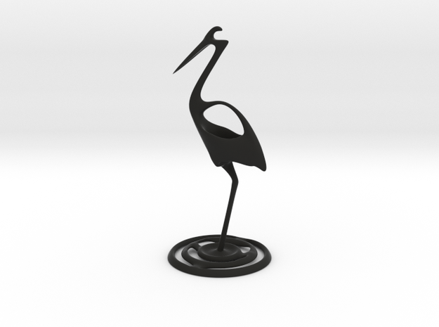 Fishing stork 3d printed