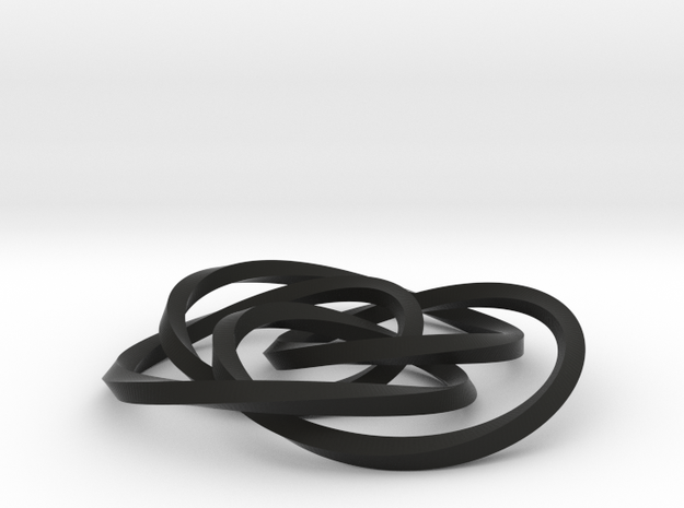 small cycloid knot 3d printed