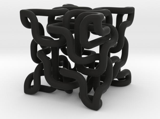 Complex cube 4-8 3d printed