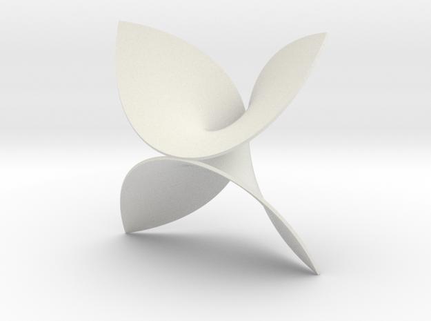 Enneper surface in White Natural Versatile Plastic