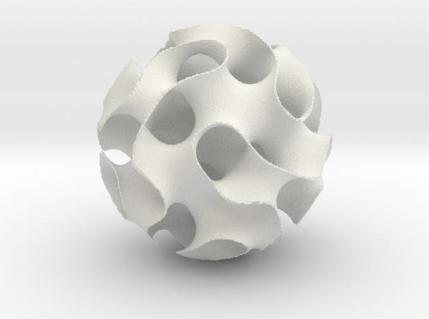 Simple Gyroid 3d printed