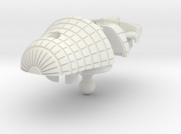 Bludgeon head G1 style in White Natural Versatile Plastic