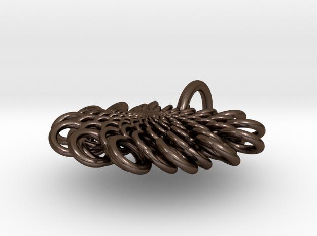 Pendant : Linked Vortex 3d printed