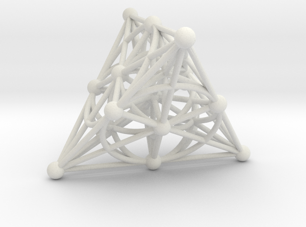 001: PG(3,2) - the smallest projective space in White Natural Versatile Plastic