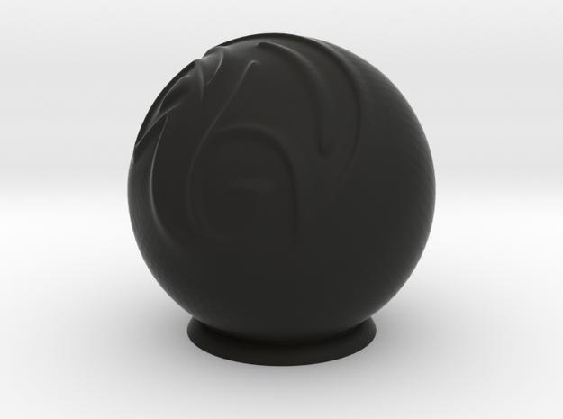 maya_ball 3d printed